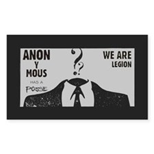 Anonymous Rectangle Decal