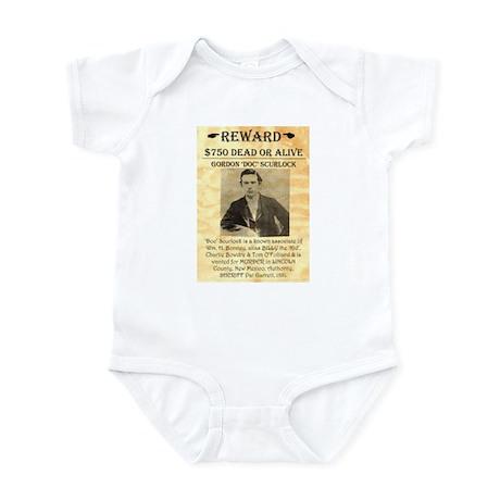 Wanted Doc Scurlock Infant Bodysuit