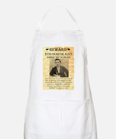 Wanted Doc Scurlock BBQ Apron