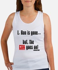 L. Ron is gone... but, the CO Women's Tank Top