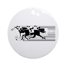 HORSE RACING! Ornament (Round)