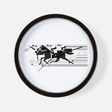 HORSE RACING! Wall Clock