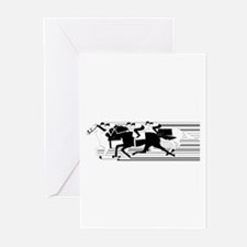 HORSE RACING! Greeting Cards (Pk of 10)