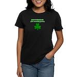 I'M WEARING GREEN Women's Dark T-Shirt