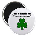 I'M WEARING GREEN Magnet