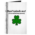 I'M WEARING GREEN Journal