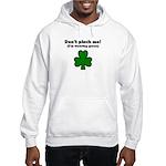 I'M WEARING GREEN Hooded Sweatshirt