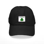 I'M WEARING GREEN Black Cap