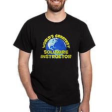World's Greatest Solit.. (D) T-Shirt