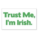 Funny irish Bumper Stickers