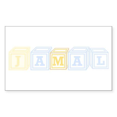 Jamal Rectangle Sticker