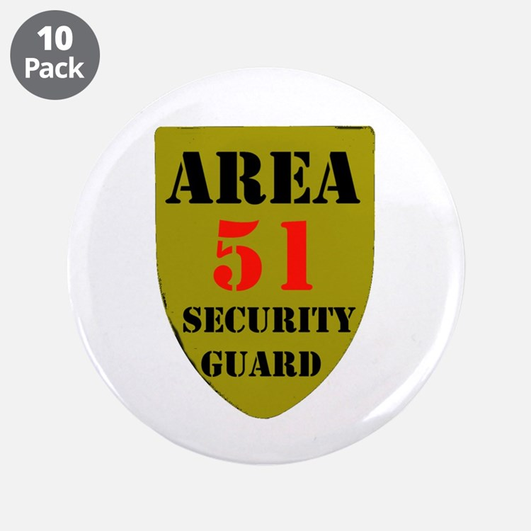 "AREA 51 3.5"" Button (10 pack)"