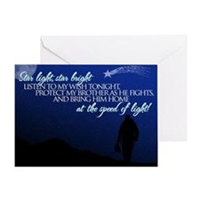 Star light, star bright (brot Greeting Card