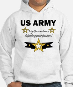 Son-in-law defending freedom Hoodie