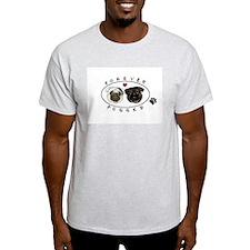Forever Pugged Ash Grey T-Shirt