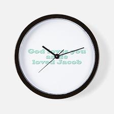 God Loves You Wall Clock