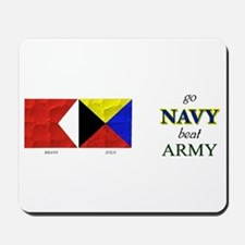 Bravo Zulu Beat ARMY! Mousepad