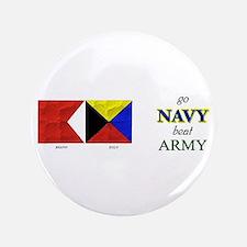 """Bravo Zulu Beat ARMY! 3.5"""" Button"""