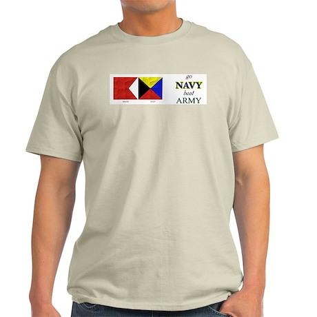 Bravo Zulu Beat ARMY! Light T-Shirt