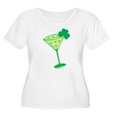 Shamrock Martini T-Shirt
