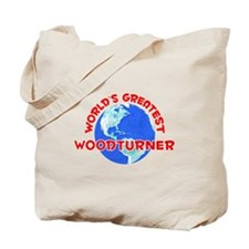 World's Greatest Woodt.. (F) Tote Bag