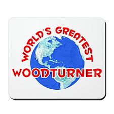World's Greatest Woodt.. (F) Mousepad