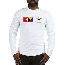 Bravo Zulu Beat Army in Flag! Long Sleeve T-Shirt
