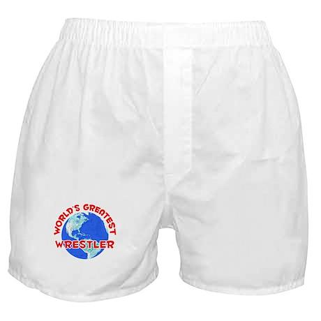 World's Greatest Wrest.. (F) Boxer Shorts