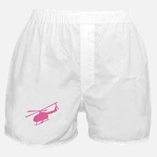 Pink Helicopter Boxer Shorts
