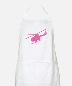 Pink Helicopter BBQ Apron