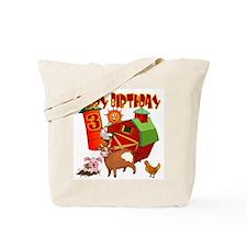 Barnyard 3rd Birthday Tote Bag