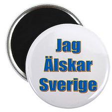 Jag Älskar Sverige Magnet