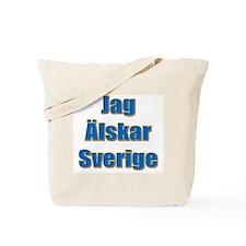 Jag Älskar Sverige Tote Bag