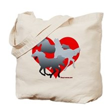 Horses of the Heart Tote Bag