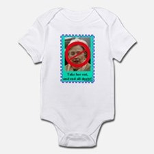"""Take Her Out!"" Infant Bodysuit"