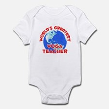 World's Greatest Yoga .. (F) Infant Bodysuit