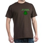 I'M WEARING GREEN Dark T-Shirt