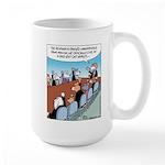 Dog-eat-Cat World Large Mug