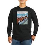 Dog-eat-Cat World Long Sleeve Dark T-Shirt