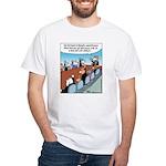 Dog-eat-Cat World White T-Shirt