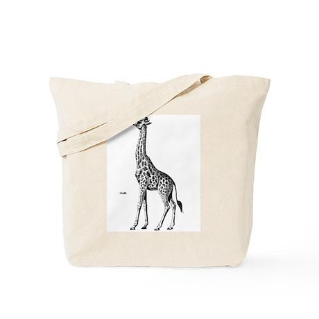 Giraffe Wild Animal Tote Bag