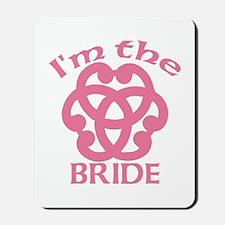Celtic Knot Bride Mousepad