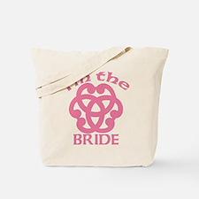 Celtic Knot Bride Tote Bag