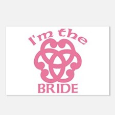 Celtic Knot Bride Postcards (Package of 8)