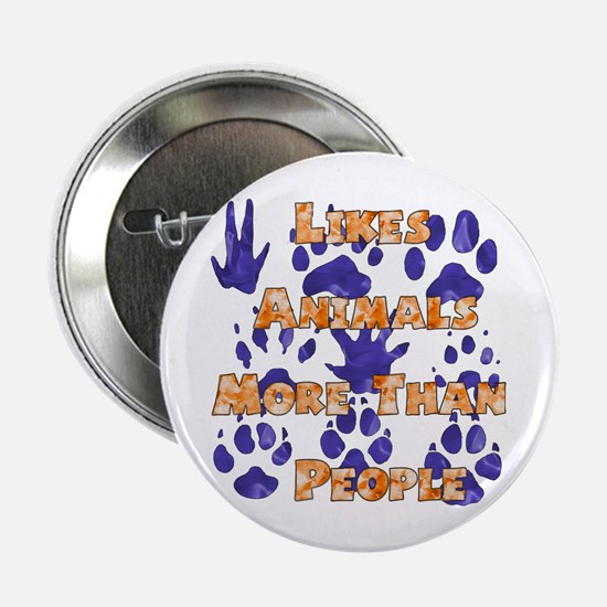"Animal Lover 2.25"" Button"