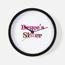 Bryce's Sister  Wall Clock