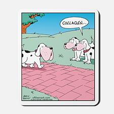 Dog Collagen Enhancement Mousepad