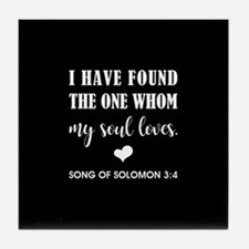 SONG OF SOLOMON Tile Coaster