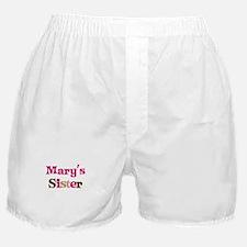 Mary's Sister Boxer Shorts