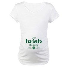 st. patrick's day maternity Shirt